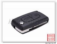 car full key for peugeot 307 remote control 433MHz Remote 2 Button key AK009003