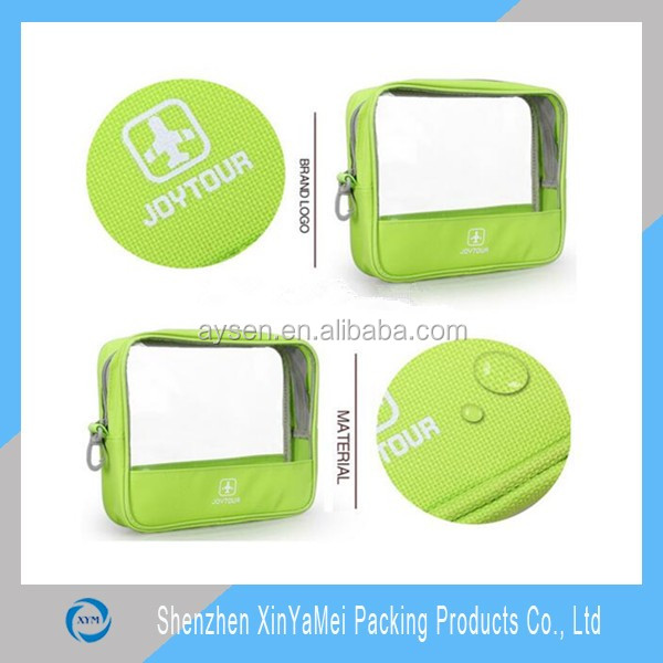promotion cosmetic bag Type and PVC Material clear pvc travel cosmetic bag
