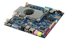 Multi-function mini-itx motherboard low power SBC board with onboard Intel Atom D2550 CPU/onboard 4GB support 1080P board