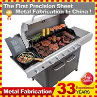 industrial barbecue gas grills designs