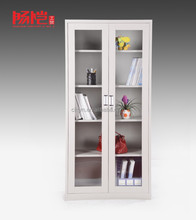 Fashion Whole glass sliding door office cabinet - one dpor, professional producer