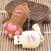Paw cute PVC usb flash drive,animal usb stick/promotional gift usb disk