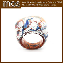Jewelery New Design Finger Rings, Unique Resin Rings 2015