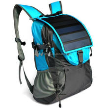 best sale polyester sports Portable solar charger bag for camping