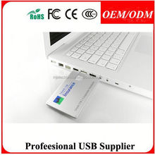 business card fullcolor hand band usb flash drive , Customized gift
