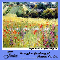 dyement/pigment ink printing Oil canvas fabric painting canvas
