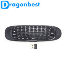 Best quality 2.4GHz G Mouse c120 Air Mouse T10 Wireless Air Fly Mouse and Keyboard Combo for Android TV Box C120