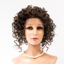 lace front japanese fiber hair, kanekalon heat resistant fiber wig