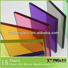 2014 nuevo diseño! De alta calidad de color de la película de eva laminado de vidrio