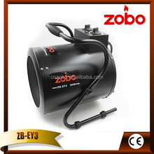 Euro style heating indoor space wiht electric air blow heater 2 settings 1500 W