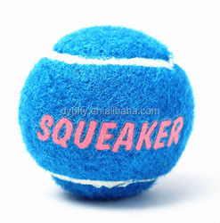 squeaky tennis ball rubber dog toys