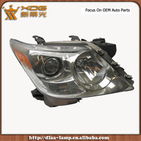 Driver and Passenger halogen light lamp, headlight accent accessoires, auto headlamp for LX 570