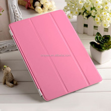 new product 2015 for apple ipad air case , leather magnetic smart cover for apple ipad air