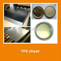 JIS3315 standard Tin free steel sheet for beverage drink can bottoms