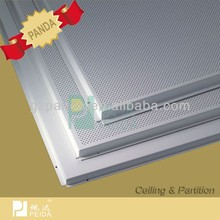Lay in Aluminum Frame Square Ceiling Fashion