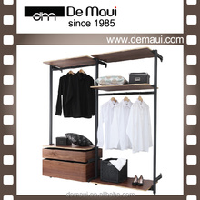 Cheap Price Simple DIY Aluminum Open Wardrobe Bedroom Furniture