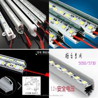 Surface mounted LED induction cabinet light / bright aluminum aluminum tank mounted lamp / LED Slim light bar / LED Slim Cabinet