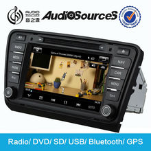 In Dash Dvd Player for VW Skoda Octavia 2014 car radio with GPS navigation BT SD USB