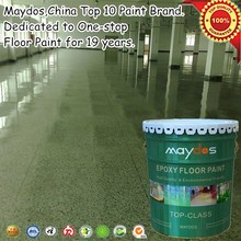 Maydos dustfree heavy duty liquid epoxy for garage floor coating