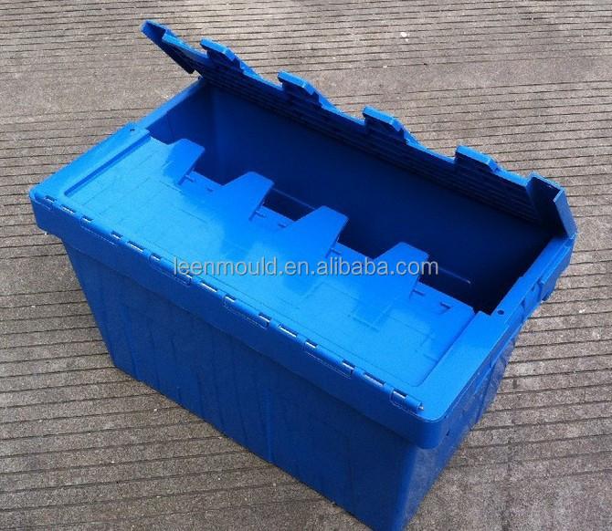 60l 62l verkauf kunststoff umsatz boxen mit deckel stapelbaren plastikkisten logistik boxen. Black Bedroom Furniture Sets. Home Design Ideas