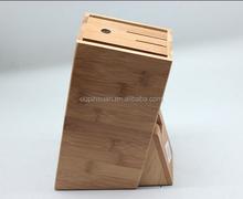 New design Bamboo Knife Holder Kitchen knife block