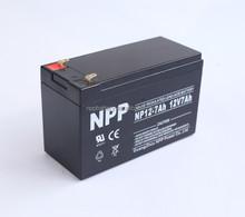 valve regulated lead acid battery of ups battery 12v 7AH