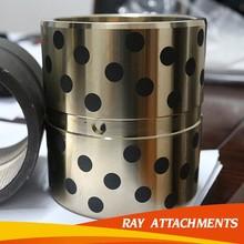 CNC precision turning brass bush/brass bushing,high quality Excavator Boom Arm Bucket Slewing Brass Bushing