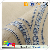 Jacquard American style 100% Polyester latest design 2015 curtain fabric for home/ hotel beddroom window