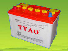 Dry Charge 65ah(65d26r) car batteries from china