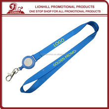 promotional custom satin mobile phone lanyard accessories