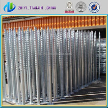 2015 best sale hot dip galvanized helical ground anchors & helical soil anchors & ground screws Canada