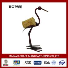 Art Crane Animal Wine Cork Craft