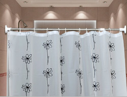 Hot sale Bathroom Shower Curtain Rod cover
