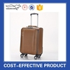 PU Leather Travel Trolley Luggage Bags For Men