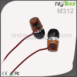 Top Quality From China Supplier Stereo wooden earphones
