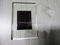 custom photo insert blank acrylic fridge magnet