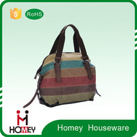 Homey New Design Wholesale Eco-friendly Multifunctional Waterproof Beautiful Fashion Canvas Ladies Laptop Bag