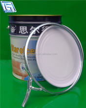 18litre cheap tinplate paint pail with lock ring lid for paint/oil /latex paint pail