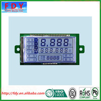 14 digits lcd display for meter