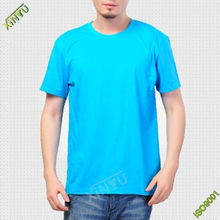 2014 Wholesale cotton blue popular remove print t shirt