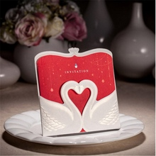 foldable popular fancy verses for wedding greeting invitation card 2015