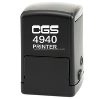 self inking stamp for Rubber stamp CGS 4940 black body trodat stamp