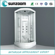 2015 china steam shower room,enclosed shower room ,top cover shower room