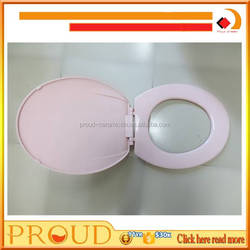 Colored Pink Soft Close Toilet Seat Cover for Toilet