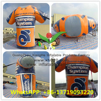 2015 inflatable clothes T-Shirt model for promotion car race
