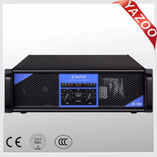 YAZOO R-1300 1300W*2 3U professional high-power amplifier with superior quality