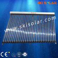 wall mounted heat pipe solar water heater collector price
