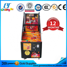 Led light electronic basketball hoop arcade two player game machine