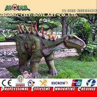 Realistic dinosaur park animatronic dinosaur robot
