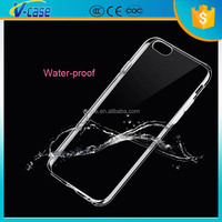 The cheapest pc clear cover for iphone 6, colorful anti-shock silicone case for iphone 6